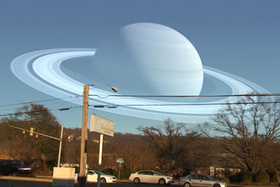 This Is How Our Sky Would Look Like If Moon Was Replaced With Planets