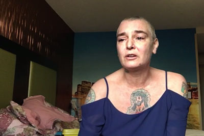 Singer Sinead O'Connor Posts Tearful Video About Being Mentally Ill