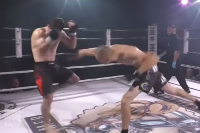 Fighter Fixes Opponent's Dislocated Shoulder After Throwing A Powerful Punch