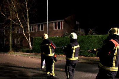 Firefighters Were Pulling A Tree. When Camera Turns Around, Everyone Is Laughing