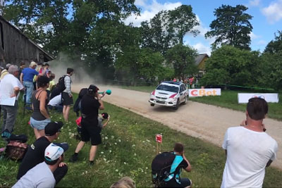 This Has To Be Most Badass Rally Jump Ever Recorded