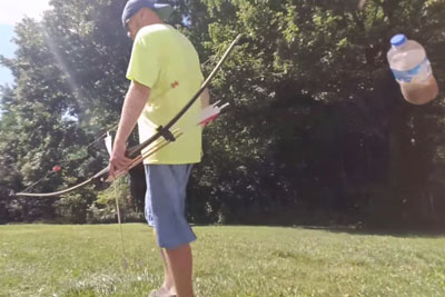 Guy Makes An Archery Trick Shot, Video Is Now Going Viral