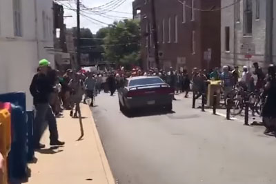 WATCH: Terrifying Video Of A Car Plowing Through Protesters In Virginia