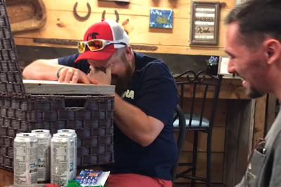 Wife's 19-Year-Old Son Gives Step Dad A Gift. He Loses It The Minute He Takes A Look Inside
