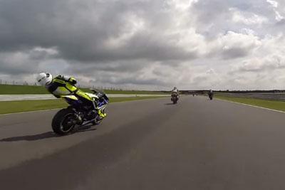 Horrific Accident When Biker Gets Knocked Unconscious At 140 Mph