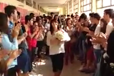 Teacher Gets A Wonderful Surprise From Her Students After Her Last Ever Class