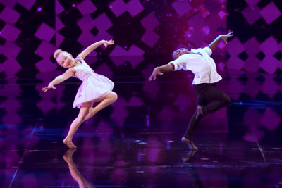 Two Kids Slayed On America's Got Talent With Dirty Dancing Performance