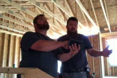 2 Contractors Take Break On Job Site To Make This Video, People Can't Believe Their Ears