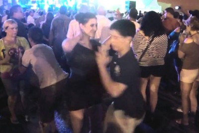 Teenage Boy Asks Her To Dance. When He Grabs Her Hand, She Experiences A Shock Of Her Life