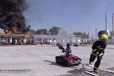 WATCH: This Is How Firefighters In China Extinguish Fire. Is This The Future?