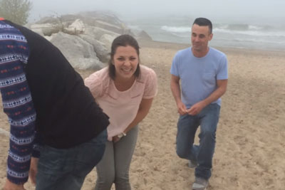 He Wanted To Propose To His Girlfriend Infront Of Mother, Then Something Hilarious Happened