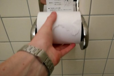 After Seeing How Japanese Toilet Paper Holders Look Like, You Will Want One For Yourself
