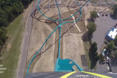 VIDEO: This Is The Highest And Fastest Roller Coaster. Would You Take This Ride?