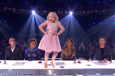 2 Kids Take The Stage For Incredible 'Footloose' Dance That Leaves The Judges' Heads Spinning