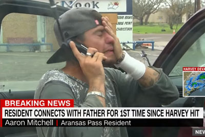 Texas Flood Survivor Who Lost Everything Reunites With His Dad