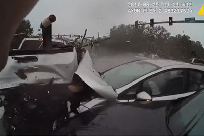 Two Deputies Assist Accident Victims, Then Another Horrible Crash Happens
