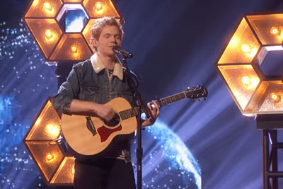 "Singer Chase Goehring Performs His Original Song ""Illusion"" On AGT, Blows Everyone Away"