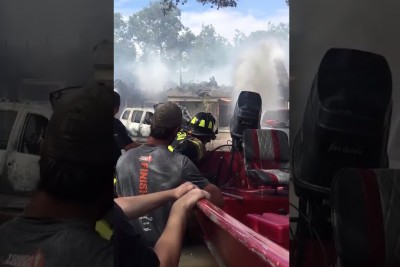 Firefighters In Houston Get Creative To Put Out A House Fire
