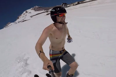 Whole World Is Going Crazy For This Video Of A Skier, Here Is The Reason