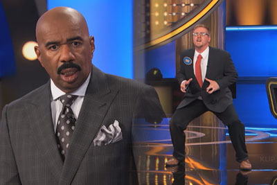 Contestant Leaves Steve Harvey Speechless With His T-Rex Impression