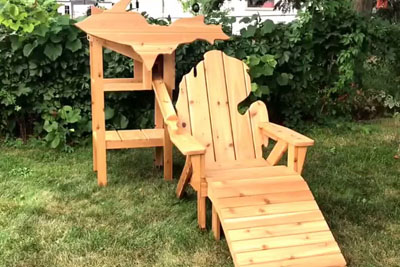 Is This Most Inovative Wooden Chair? Every Man Wants It!