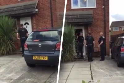 Police Raids This Guy's Home, He Escapes In Most Epic Way