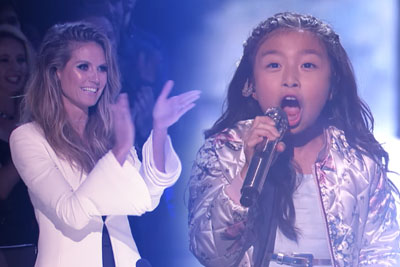 "9-Year-Old Celine Tam Stuns The Audience With ""How Far I'll Go"" On AGT"