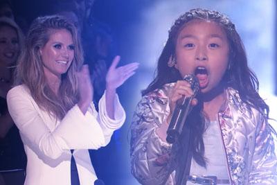 "9-Year-Old Celine Tam Stuns The Audience With ""How Far I'll Go"" On AGT"