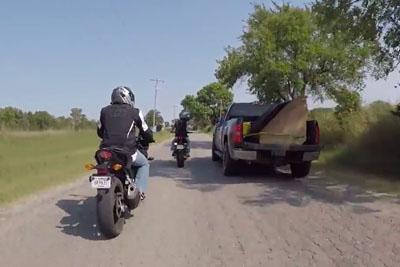 Road Raging Bikers Get A Taste Of Southern Hospitality In Glencoe, Oklahoma