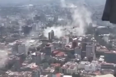 WATCH: 7.1 Magnitude Earthquake Rocks Mexico City, Leaving The City In Chaos