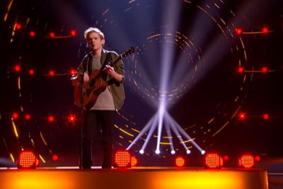 "Singer Chase Goehring Relays A Powerful Message With His Original Song ""Mirror"" On AGT"