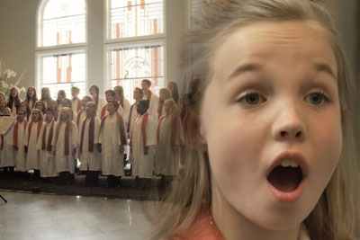 Angelic Choir Sings Beautiful Song Of Praise, 2 Minutes In Little Girl Chimes In And Steals The Show