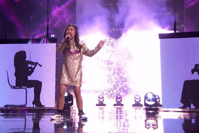 10-Year-Old Angelica Hale Ends Second On AGT With This Stunning Performance
