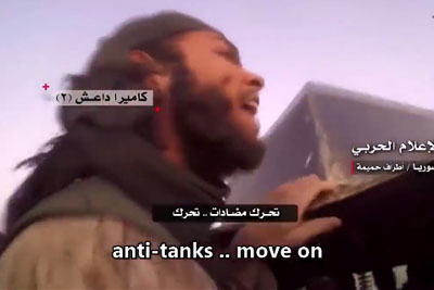 ISIS Terrorists Get Hit By SAA Tank Shell, Footage Captured On GoPro Is Going Viral