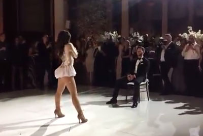 Bride Shocks Groom With Dirty Dance, Leaves Him Begging For More