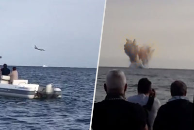 WATCH: Italian Air Force Typhoon Crashes At Air Show, Pilot Dies On Impact