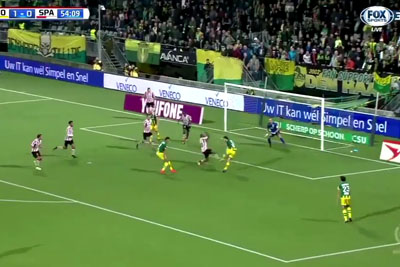 VIDEO: Dutch Goalkeeper Impressed The World, This Is The Best Defense Of The Year