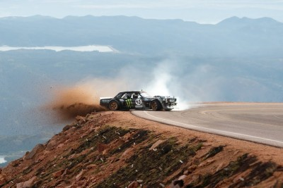 Ken Block Drifts 1,400 Horsepower Ford Mustang On Pikes Peak, Footage Is Going Viral