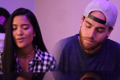 Couple Sings Two Songs At The Same Time, Result Is Stunning