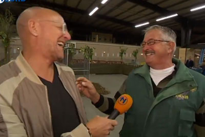 Contagious Laughter Of Chicken Farmer Is Going Viral, Even Reporter Cried Of Laughter