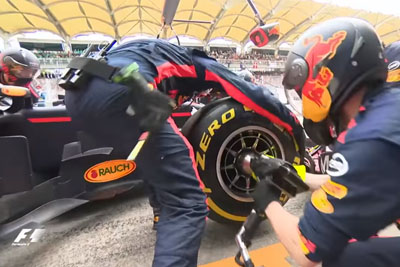 Red Bull Mechanics Impress With Fastest F1 Pit Stop On Malaysia Grand Prix