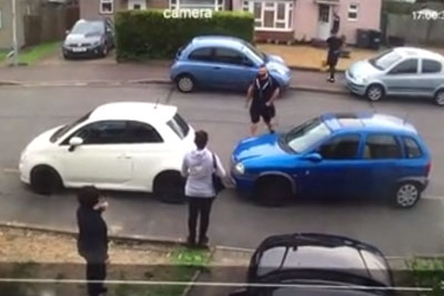 Petty Parking Dispute Gets Even Pettier As Man Literally Moves Woman's Car