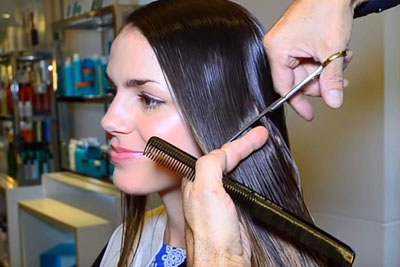 Beautiful Girl Makes Decision To Cut Long Hair, New Look Leaves Her Unrecognizable
