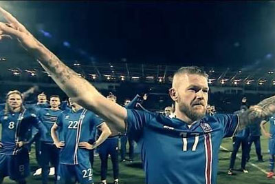 Iceland Celebrates First World Cup With Epic Viking Thunder Clap