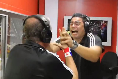 Soccer Announcers From Panama Lose It When Their Country Classifies For The World Cup