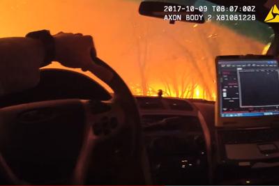 Fire Engulfs Sonoma Deputies Evacuating People From Burning Homes