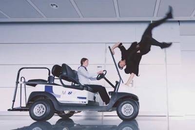Jason Paul Amazing Airport Freerun