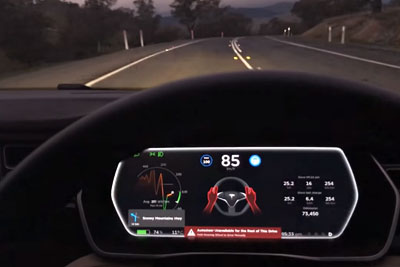 This Is What Tesla Autopilot Does If You Fall Asleep Behind The Wheel