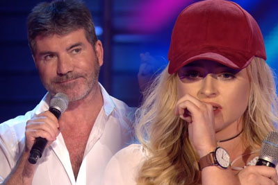 She Announces She's Singing Simon's Favorite Song. His Comeback Brings On Judge's Accusation