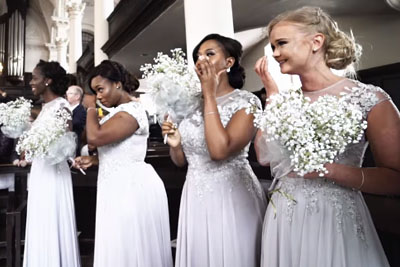 Groom Sees Bride Walk Down The Aisle. Gives Response That Put Every Bridesmaid In Tears